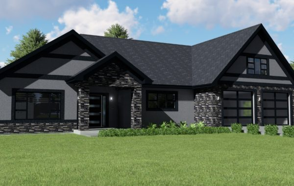 Single Family Attached Home | Realistic Renderings | 02206